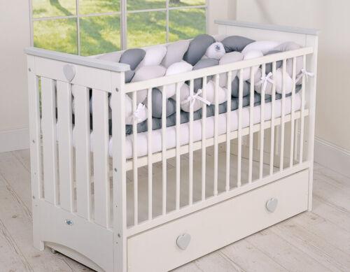My Sweet Baby Magic Loop Geflochtenes Rundum XXL Nestchen Kopfschutz für Bett