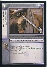 Lord Of The Rings CCG Card TTT 4.U132 Ranger's Sword, Blade Of Aragorn