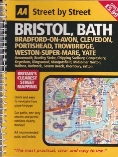 Aa Street von Bristol Bad Bradford auf Avon Clevedon Portishead Trowbridge