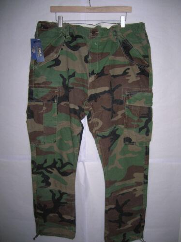 Lauren Nuovo Bdu Field Ralph Pants Polo Camo Fatigues Army Military Vintage Cargo 66EpxHwqrU