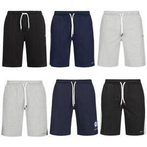 BEN SHERMAN Herren Fitness Sweat Logo Sport Shorts kurze Trainings Hose neu