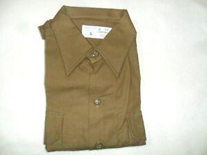 Idf-Shirt-Israeli-Army-Class-A-034-Alef-034-Military-Israel-Uniform-with-Zahal-label