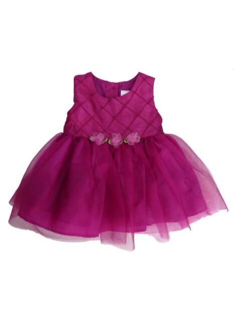 Infant Toddler /& Girls Mom /& Me Pink W//T Bunnies Smock Dress Sizes 12Mt 6