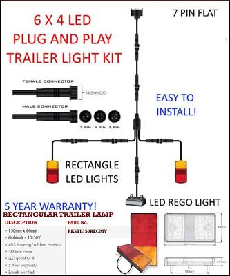 Trailer Light Kit Wiring Diagram 4 Pin from i.ebayimg.com