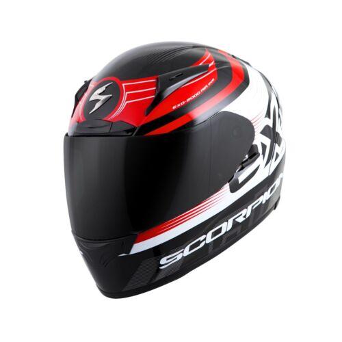 Scorpion EXO-R2000 Fortis Premium Helmet Black//Red