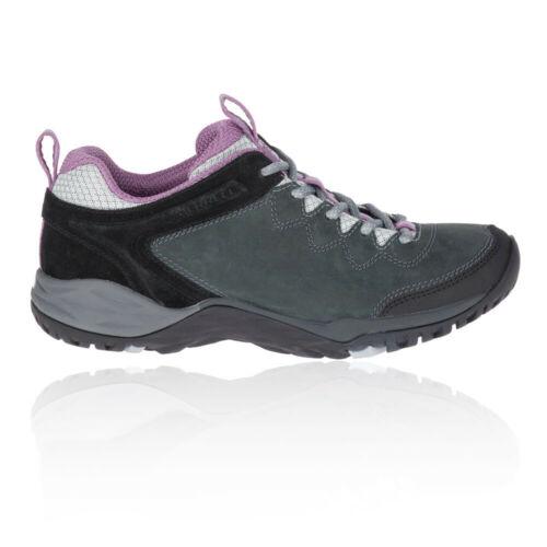 Merrell Damen Siren Traveller Q2 Leder Wanderschuhe Outdoor Schuhe Grau Lila