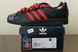 hidrógeno cámara Ventilación  Adidas Originals Star Wars Dark Side Superstar LTO Sneaker Schwarz Rot Gr 43    eBay