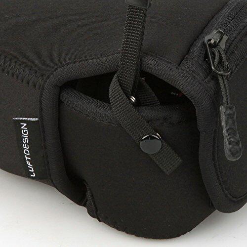 HAKUBA camera case Rufuto design slim fit L-90 black DCS-03L90BK