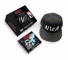 NWA STRAIGHT OUTTA COMPTON LIMITED EDITION CD & SNAPBACK HAT DR DRE N.W.A.