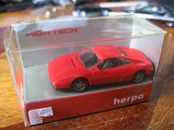 Lagere Prijs Met Ferrari 348 Tb Rouge Herpa 1/87 Neuve En Boîte Mib 2525