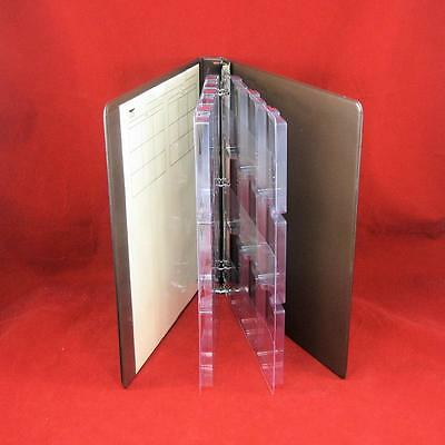 2 Eagle Slab Pages for Certified Coin Slabs Holds Up to 9 PCGS NGC Slabs each