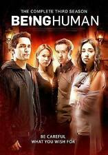 Being Human: The Complete Third Season (DVD, 2014, 4-Disc Set)