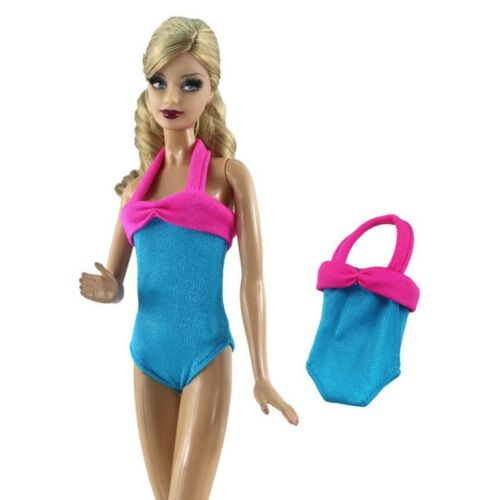 "Colorful Bikini For 11.5/"" 1//6 Doll Clothes Swimwear One-Piece Swimsuit Monokini"