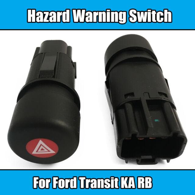 Ford Transit MK6 2000 to 2006 Hazard Warning Switch Button 97KG13A350AC