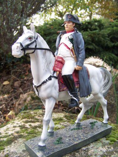 65761 Figurine Statuette Empereur Bonaparte Napoleon A Cheval Resine