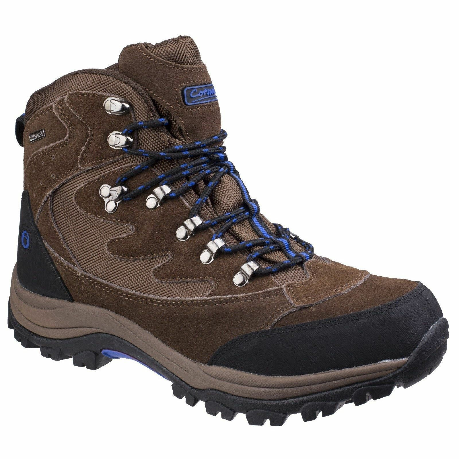 Cotswold Oxerton braun Mens Hiking Stiefel Leather Suede