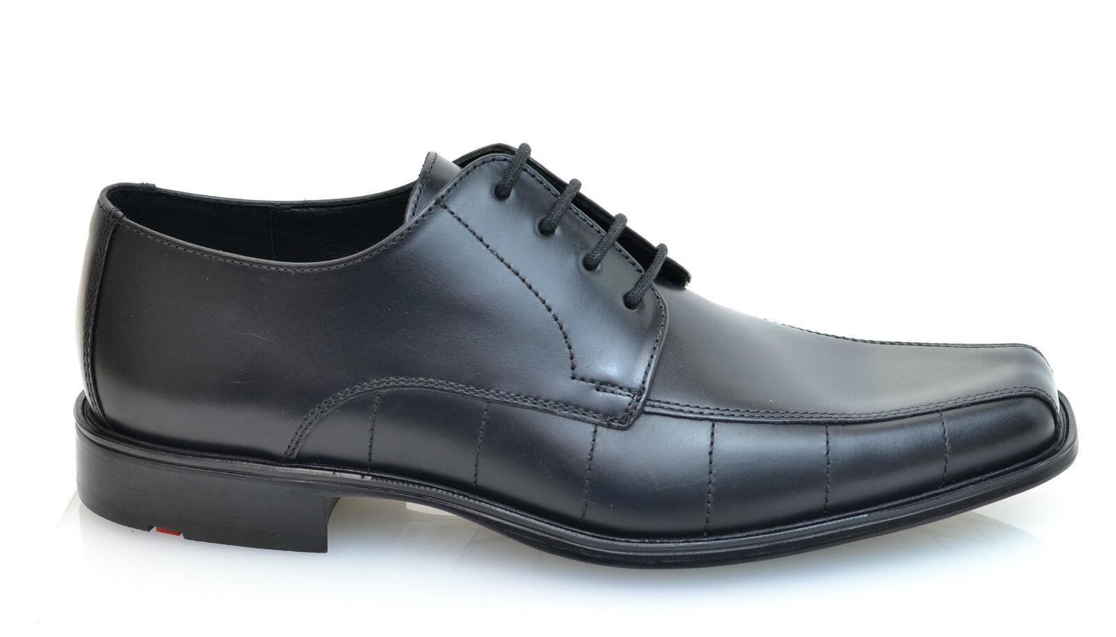 Lloyd shoes schwarz Leder Anzug Schuhe NEU REDUZIERT + Schuhcreme gratis