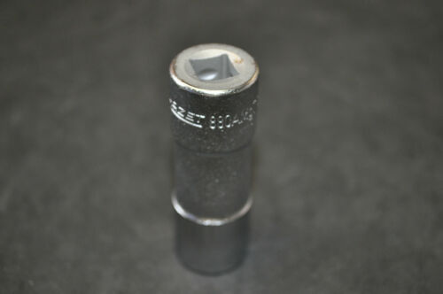 """16 MM 5//8/"""" PERMANENT MAGNET SPARK PLUG SOCKET 3//8/""""DR MADE GERMANY HAZET 880AMGT"""