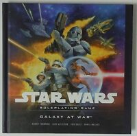Star Wars Roleplaying Game Galaxy At War Book Hardcover D20