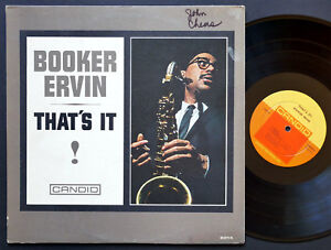 BOOKER-ERVIN-That-039-s-It-LP-CANDID-CJM-8014-DG-MONO-George-Tucker-Al-Harewood