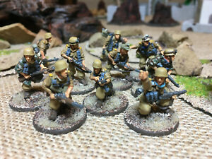Painted-28mm-Fallschirmjager-Squad-in-Tropical-Uniform-Bolt-Action-Warlord-Games