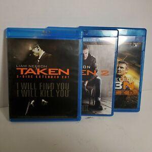 Bluray-LOT-Taken-1-2-3-Trilogy-Liam-Neeson-Blu-Ray-OD1A51