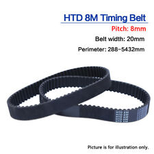 720-8M-25 HTD Timing Belt 720 mm Long 25mm wide /& 8mm Pitch