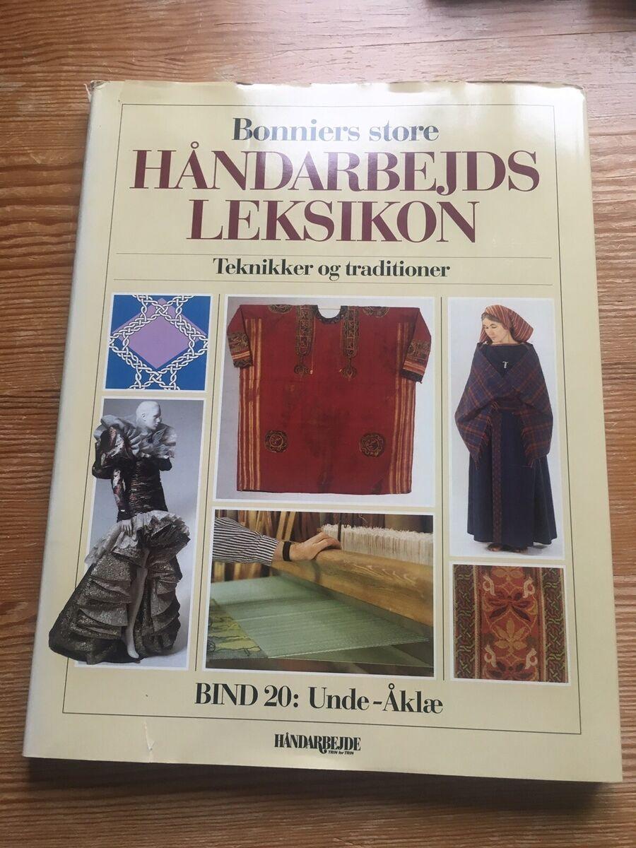 aa7005c45 Bonniers store håndarbejds leksikon , emne: håndarbejde...