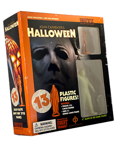 Fright Rags Exclusive Halloween 1978 Nanoforce Figures Set - Limited to 2500