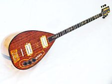 UNOS :: TURKISH   ELECTRIC  BAGLAMA SAZ  WITH SOFTCASE AND EXTRASS NEW !!!!!!