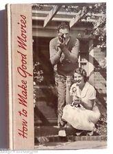 Vintage 1950's How To Make Good Movies (Eastman Kodak publication) Book