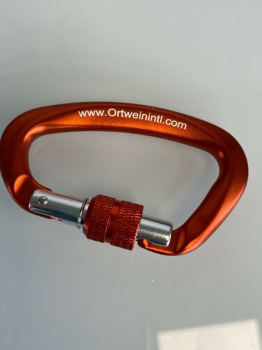 Ortwein International 12KN Screw Lock Gate Carabiner