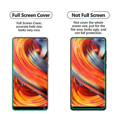 2x Full Screen Face Curved Tpu Screen Protector Cover For Xiaomi Mi A2 / Mi 6x Das Ganze System StäRken Und StäRken