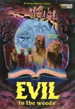 Evil In The Woods DVD Massacre Video William J. Oates '86 uncut horror Evil Dead