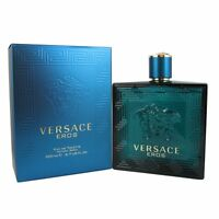 Versace Eros By Versace 6.7 Edt Spray Men's Cologne In Sealed Box Perfume