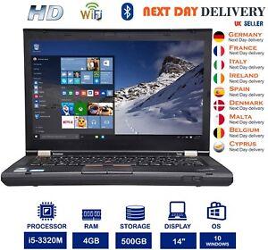 LENOVO-Thinkpad-T430-14-034-Laptop-Intel-Core-i5-2-6Ghz-4GB-RAM-500GB-HDD-un-livello