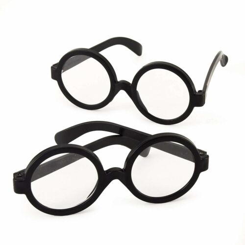 Wizard Harry Potter Style Glasses Pack Of 8 Pairs Halloween Costume Accessory