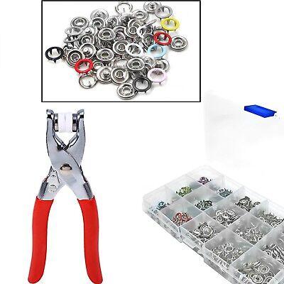 Poppers Tool set Punch die Snap fastener Press stud Bib Dummy clip Nickel Free
