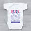 Love From The Bump Father/'s Day New Arrival Poem Girls Baby Grow Bodysuit
