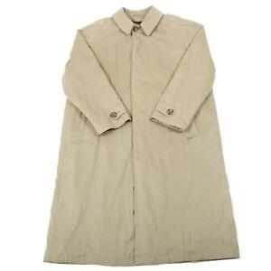 Vintage-HUGO-BOSS-Mac-Fleece-Liner-Trench-Mackintosh-Pea-Overcoat-Coat