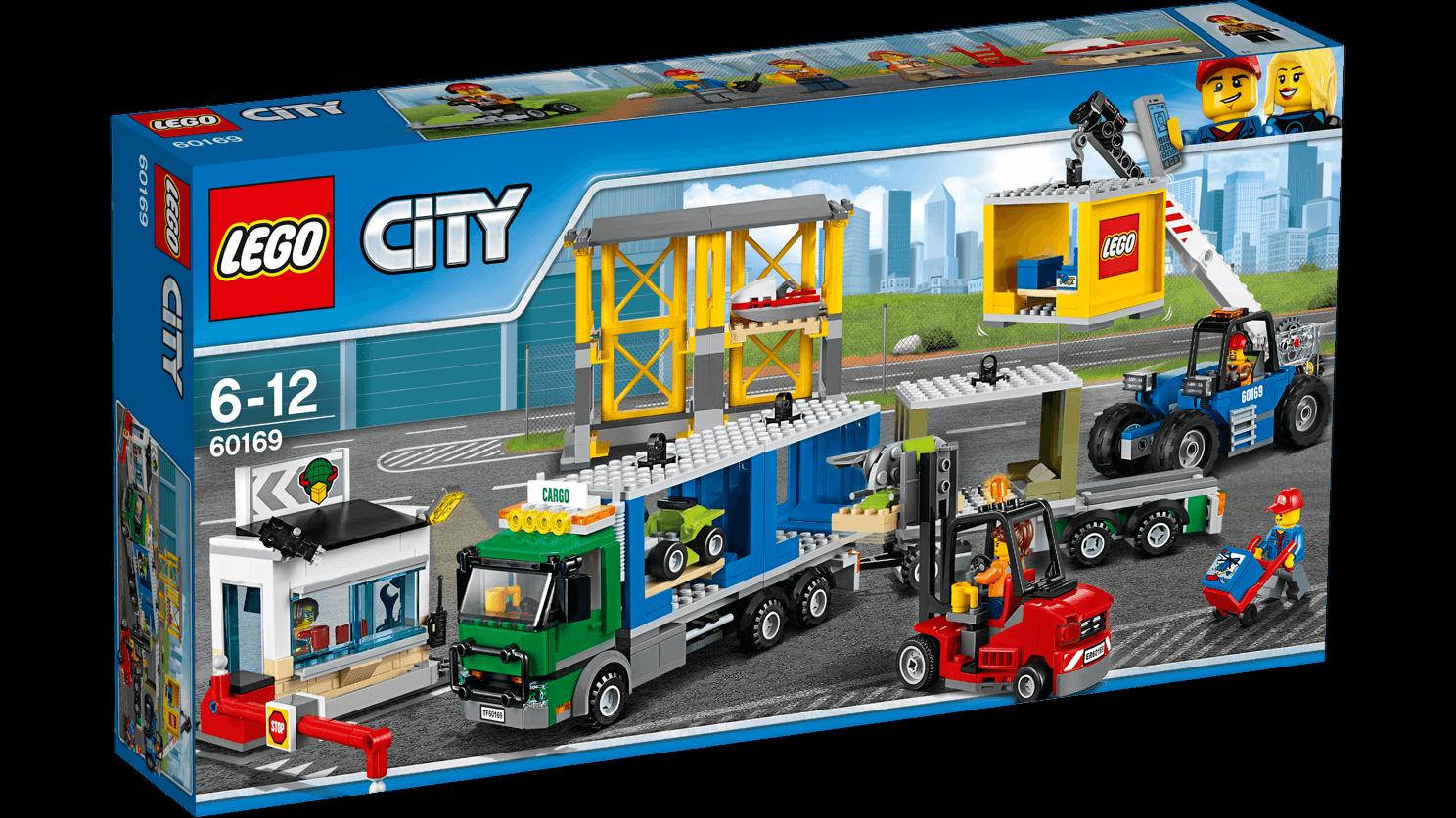 LEGO City Town - Terminal de Mercancias - NUEVO