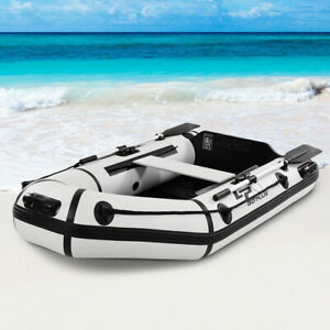 Details about Goplus 2 Person 7 5FT Inflatable Dinghy Boat Fishing Tender  Rafting Water Sports