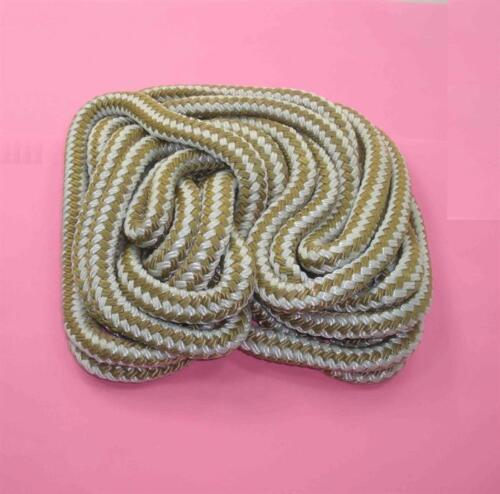 Marinequalität Doppel Geflochten Nylon 3/8 X 250ft Gold für Dock Anker Seil