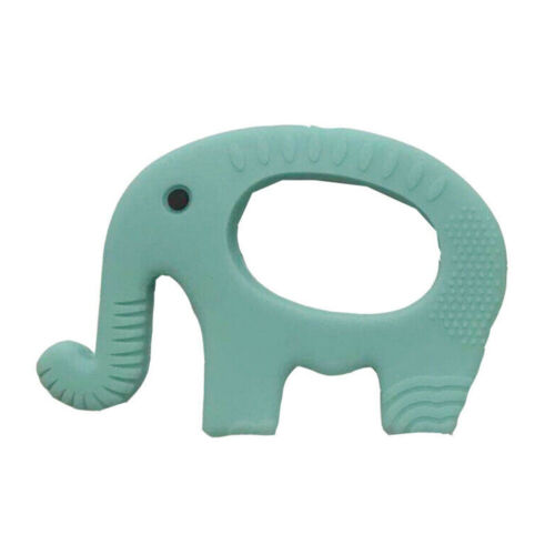 Baby Boy Girl Silicone Elephant Baby Teether Massage Gums Teething Chew Toy Best