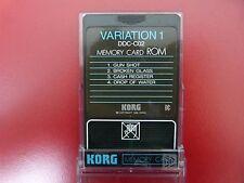 KORG DDC-C02 'VARIATION 1' MEMORY CARD ROM FOR KORG DDD-1 & DDD-5 New Old Stock