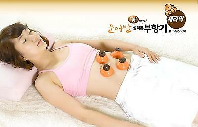 New far-infrared CUPPING SET 4 CUPS for Slimming,Vacuum massage and Acupuncture