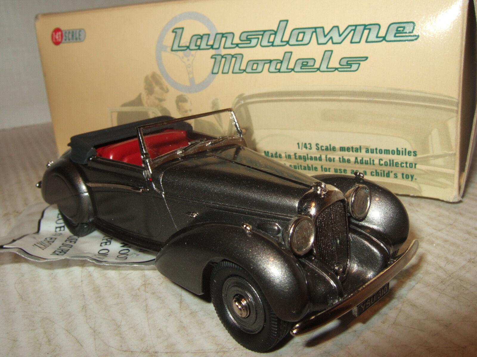 Lansdowne Models LDM78 1939 Lagonda V12 Rapide Drophead Coupe in 1 43 Scale.