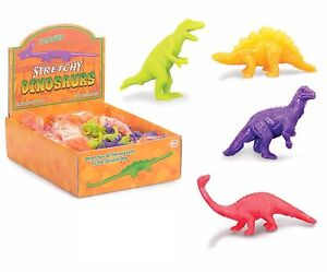 STRETCHY-DINOSAURS-Kids-Birthday-Party-Loot-Bag-Favors-Toys-Stocking-Fillers-UK