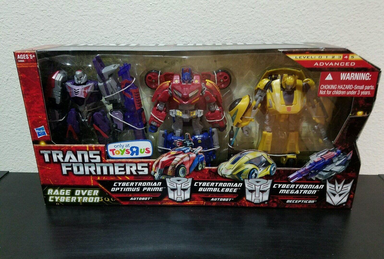 Cybertronian Optimus Prime Bumblebee Megatron Rage  Over Cybertron War MISB  ultimi stili