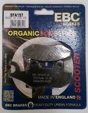 Sym euro Mx 125 (2002 a 2009) Ebc Trasera Freno De Disco almohadillas (sfa197) (1 Set)